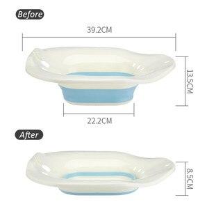 Image 3 - 1 조각 Collapsible Yoni Detox 스팀 시트 Sitz Bath Bowl 엉덩이 목욕 기선 Vagina Douche Kit Pot Vagina 여성용 클렌징 도구