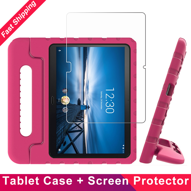 Kids Protective Stand Case For Lenovo Tab M10 Tab P10 10.1 Inch X605 2019 Tablet Case EVA Shockproof 360 Full Protective Cover
