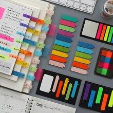 Marker Note Memo-Sticker Paper School-Supplies Self-Adhesive Fluorescence Office