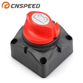 Car Auto 12V-60V 100A-300A RV Marine Boat Battery Selector Isolator Disconnect Rotary Switch Cut YC101593 image