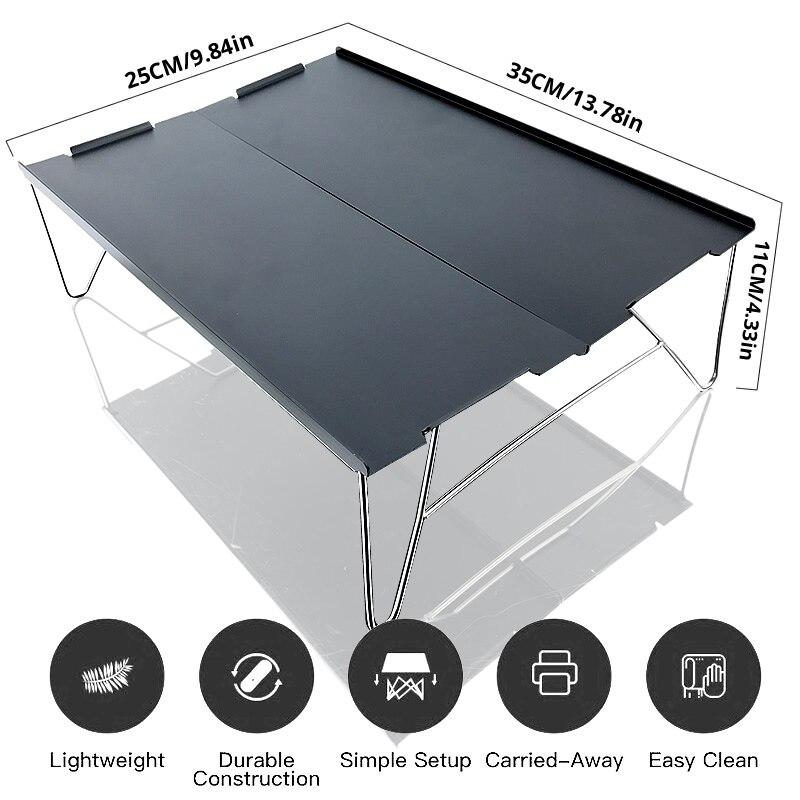 Aluminium Table Folding
