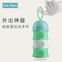 Milk Powder Box Babies Portable Out To Fill Milk Powder Cans Large Capacity Storage Box Baby Milk Powder
