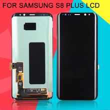 Dinamico G955 Lcd For Samsung Galaxy S8 Plus Display G955 G955F Display With Touch Screen Digitizer Assembly Free Shipping+Tools 2pcs black lcd for samsung galaxy s i9000 lcd touch screen display with digitizer full assembly free shipping tracking no