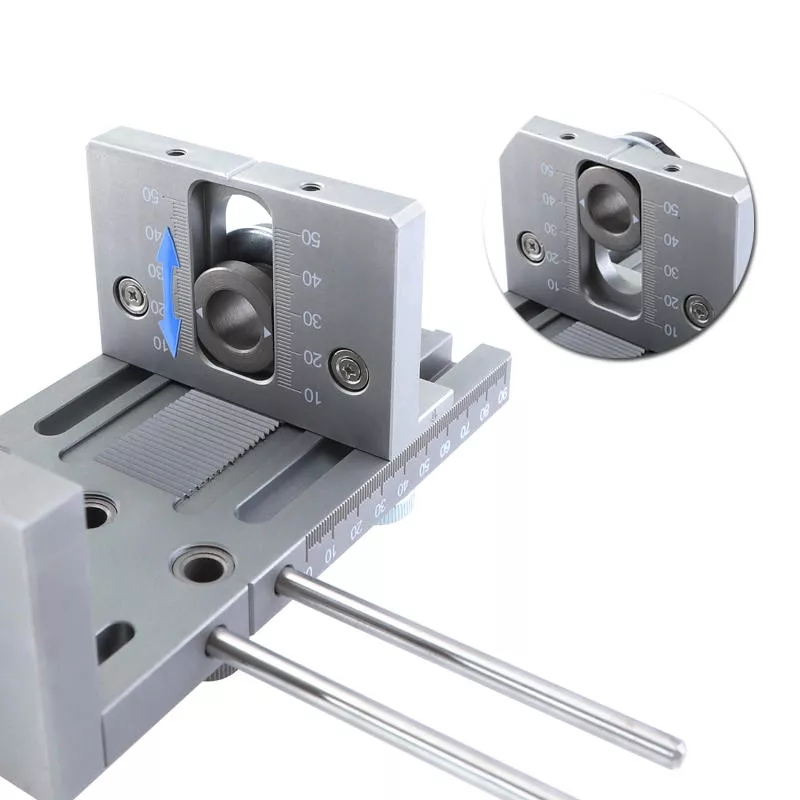 Jig Tools Doweling Guide ALLSOME Woodworking Locator Wood Puncher Adjustable Connecting Drilling Furniture DIY For Position Hand
