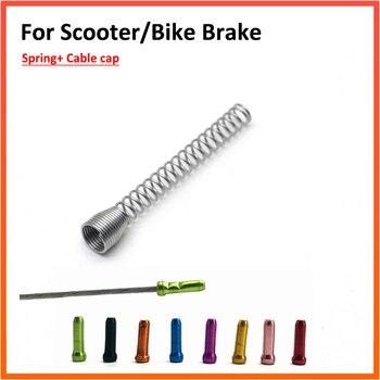 Xtech Bremse Edelstahl Versenkbare Bremse Quellen Shift Linie Farbe Schwanz Kappe Bunte Für M365 Bremse Roller Zubehör