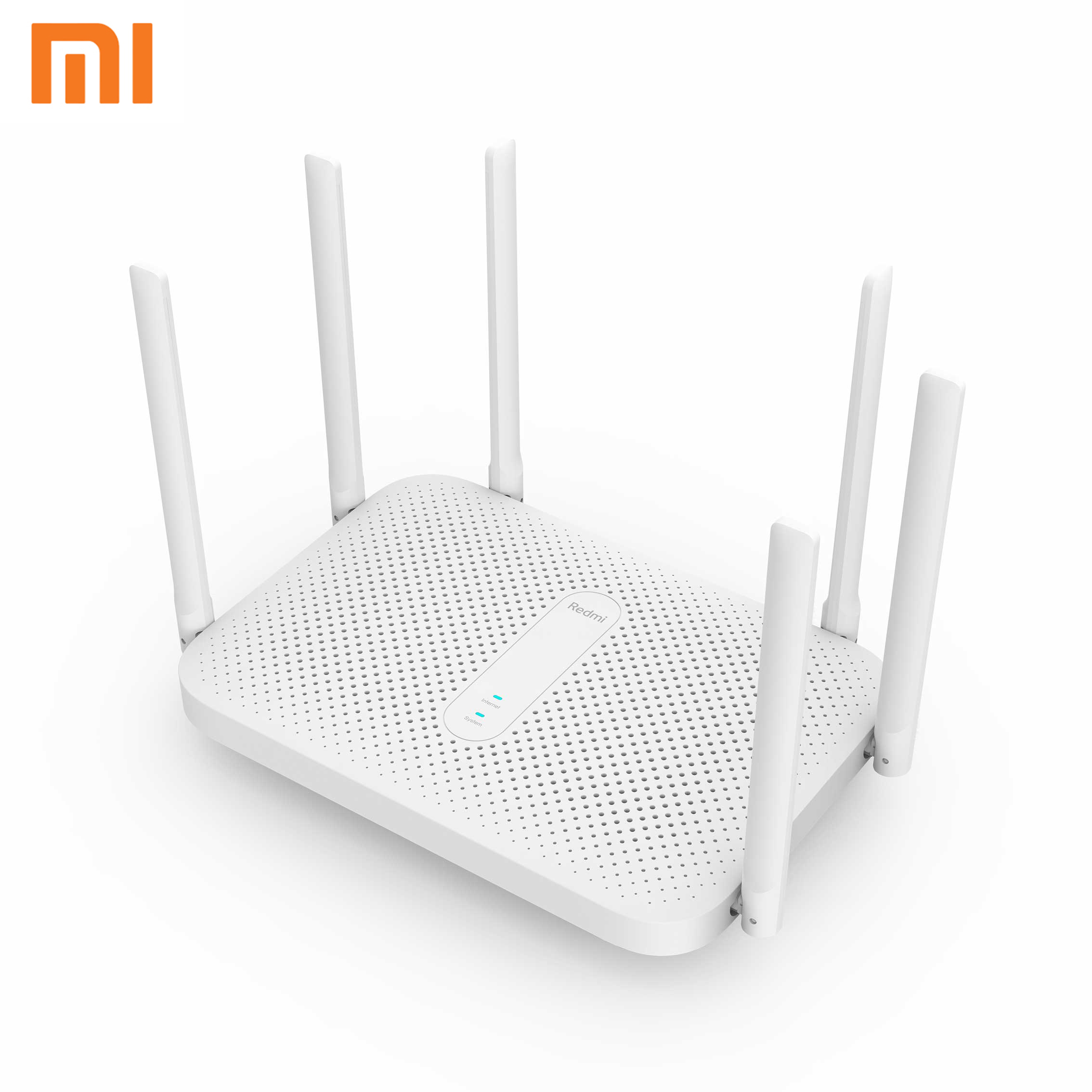 Xiaomi Redmi AC2100 Router Gigabit Dual-Band Wireless Router Wifi Repeater with 6 High Gain Antennas Wider Coverage Easy setup(China)