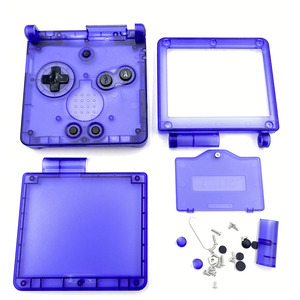 Image 3 - Cool Clear For GBA SP Replacement Housing Shell Cover For Game Boy Advance SP