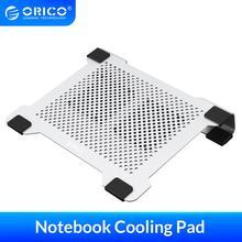 Orico 15 polegada notebook computador radiador suporte placa de alumínio portátil suporte para apple portátil notebook almofada refrigeração