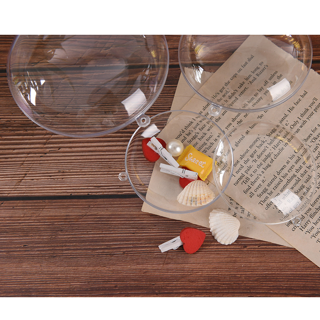 1pcs New 3 Sizes Eggs Shape Crafting Home DIY Bath Bomb Mold Plastic Clear Mould Reusable Hotel Decor Bath Care Tool 4
