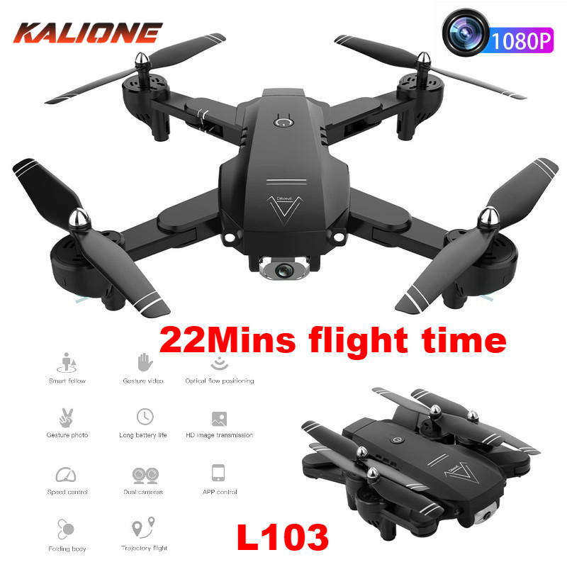 L103 RC Helicopters Camera Drone Wifi Drone with Camera Helicopter Optical Flow Position Drone Camera 22mins long flight time