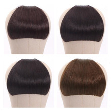 Bangs Hairpieces Fringe-Hair Clip-In Brazilian Halo Lady Blunt Neat Beauty Non-Remy-Clip