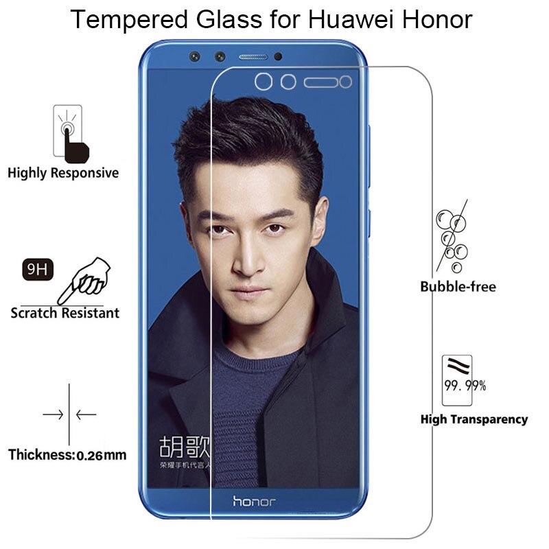 Verre protecteur d'écran pour Huawei Honor 20 Pro 10i 20i 8S 7S verre trempé pour Honor 10 Lite verre sur Honor 9 Lite 9S 7 8 lumière