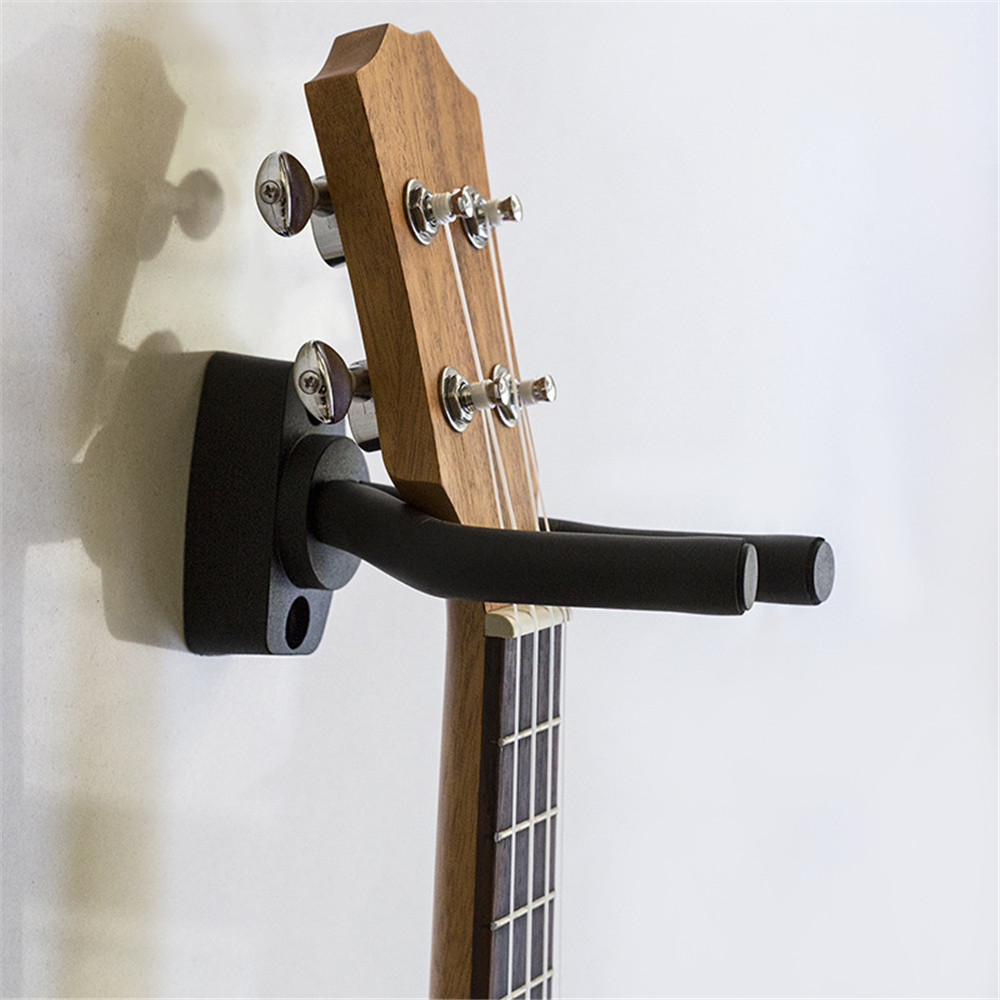 Guitar Wall Mount Hanger Hook Guitar Holder Wall Mount Stand Rack Bracket Display Guitar Bass Screws Accessories With Screws New