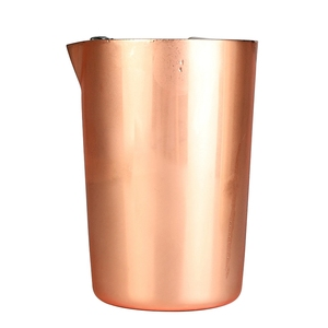 ABSS-Stainless Steel Stirring Cup 500Ml Cocktails Cup Moscow Dice Cup Bartending Tool Bar Cocktail Glass Coffee Milk Tea Cup Mix(China)