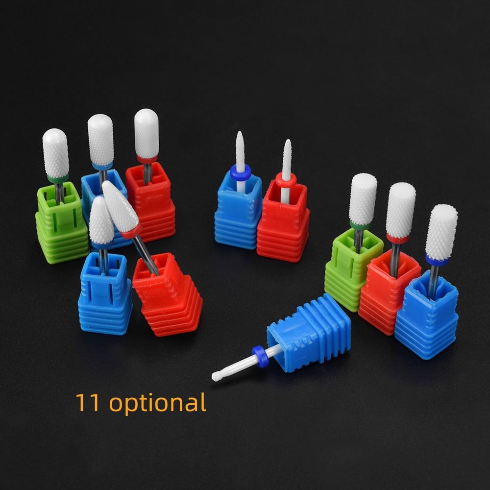 ATOMUS керамический сверло для ногтей Электрический фреза для ногтей для маникюра педикюра аксессуары для ногтей инструмент для удаления лака для ногтей