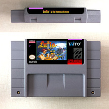 Lufia Fortress of Doom   RPG Game Card US Version English Language Battery Save