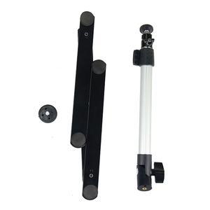 Image 3 - for Photograph Equiment Mini Monopod+Phone Clip Fill In Light Bluetooth Control Adjustable Table Top Stand Set