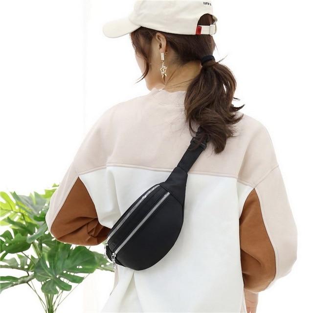 2020 New Waist Bags Waterproof Pack For Women Fashion Bum Bag Ladies Travel Crossbody Chest Bags Unisex Hip Bag Belt Purse 4