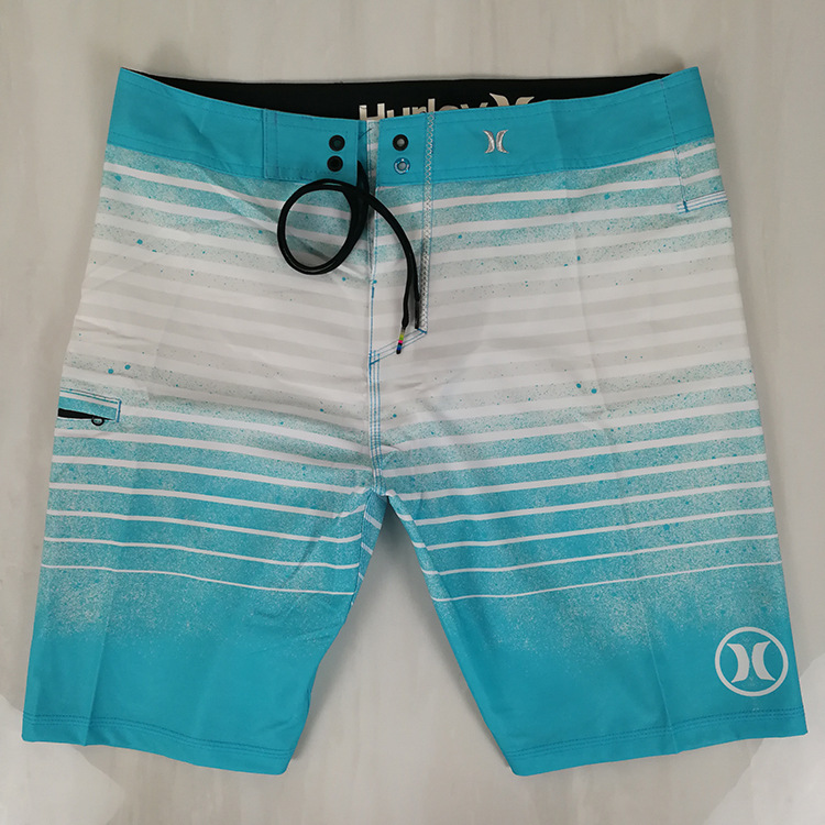 Hurley Fitness Game Sewer Beach Shorts Men's Shorts Quick-Dry Slim Fit Casual Men's Trousers Swimming Trunks Hot Springs Boardsh