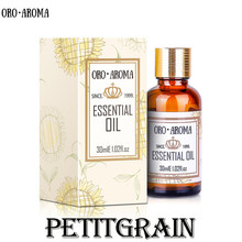 Famous brand oroaroma natural Petitgrain oil Stabilizing agent Soothing mood res