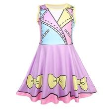 купить Summer Kids clothes Princess Dresses for Girl Cosplay Printing Girl Dress Children Clothing 3-8Y 51213 дешево