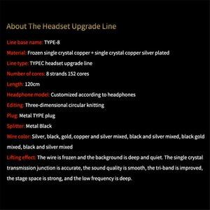 Image 5 - Кабель для Hi Fi наушников CABLETIME, 0,78 провод, акустический кабель Type c, сменный провод для обновления звука, OCC DIY Hi Fi наушники MMCX 1,2 м