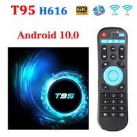 Original T95 android tv box bluetooth 5,0 2,4g & 5g Wifi 128g 3D Voice16g 32gb 64gb 4k Quad-Core-Set-Top-Box Media Player