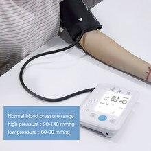 BOXYM-Monitor Digital LCD de presión Arterial, esfigmomanómetro automático, tonómetro para medir la presión Arterial