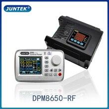 JUNTEK DPM8650 RF 60 فولت 50A التحكم عن بعد الفولتميتر تيار مستمر تيار مستمر امدادات الطاقة الجهد المنظم تيار مستمر محول باك وحدة