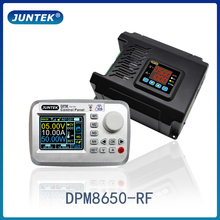 JUNTEK DPM8650 RF 60V 50A remote control voltmeter dc dc power supply voltage regulator constant current converter buck module