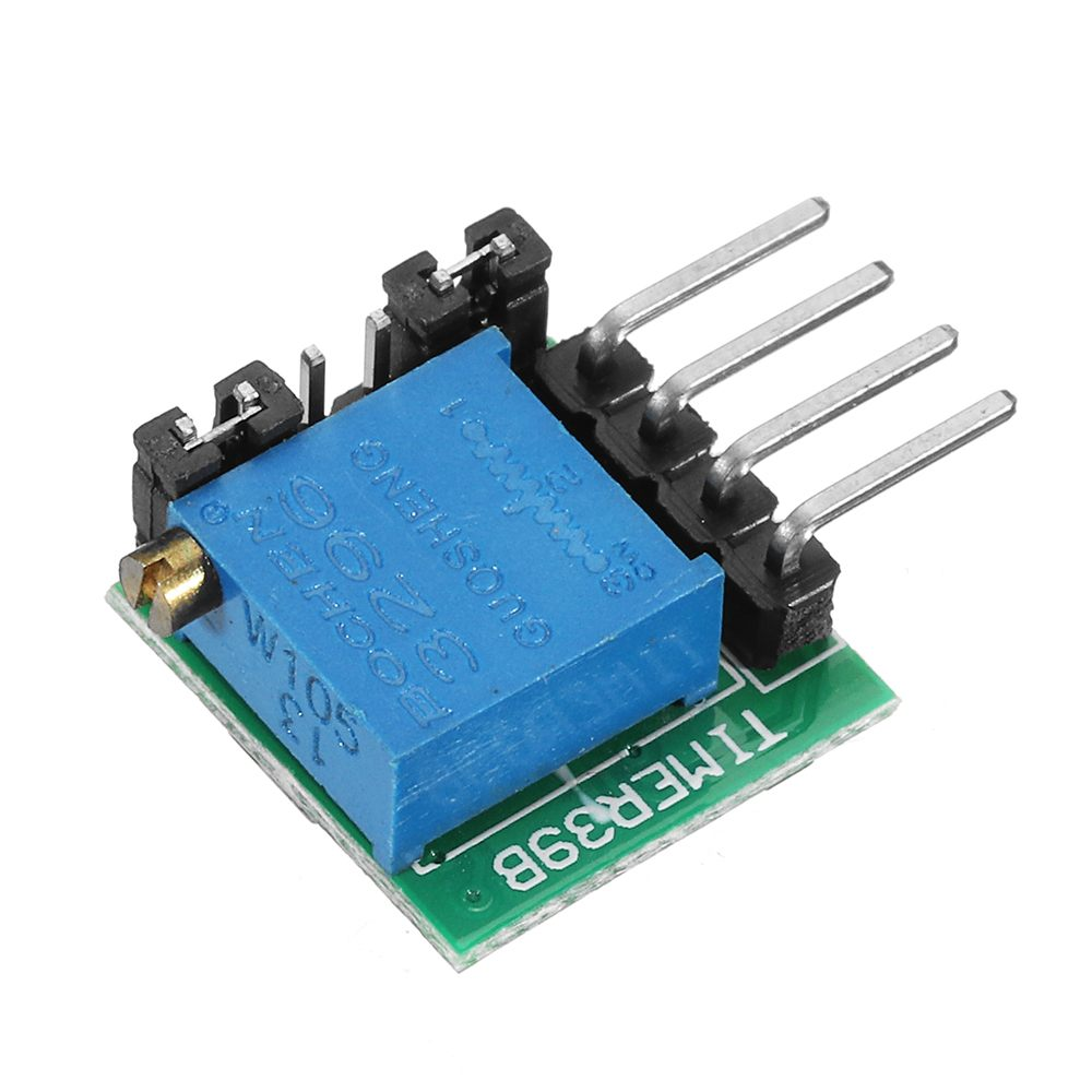 CLAITE 1s-20H AT41 Time Delay Relay Circuit Timing Switch Module 1500mA For Delay Switch Timer Board DC 12V 24V 3V 5V
