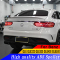 Спойлер для автомобиля Mercedes - Benz GLE купе GLE320 GLE400 YC  АБС-пластик  задний спойлер GLE450 GLE500 2015-2017  спойлер высокого качества