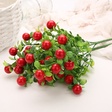 Simulation Green Plant Artificial Wedding Decoration Home Decor Chili Fruits Bunches Landscape Plant 35FP18
