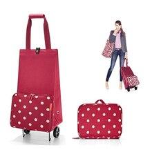 Складная сумка для покупок, сумка для покупок на колесах, маленькая сумка для покупок, женская сумка для овощей, органайзер для покупок, буксировочная посылка