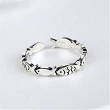 925 sterling silver The adjustable ring Small group of Holiday gift lovers fashion jewelry