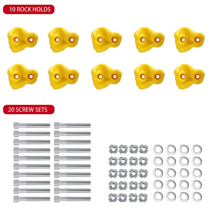 10 yellow WITH SCREW