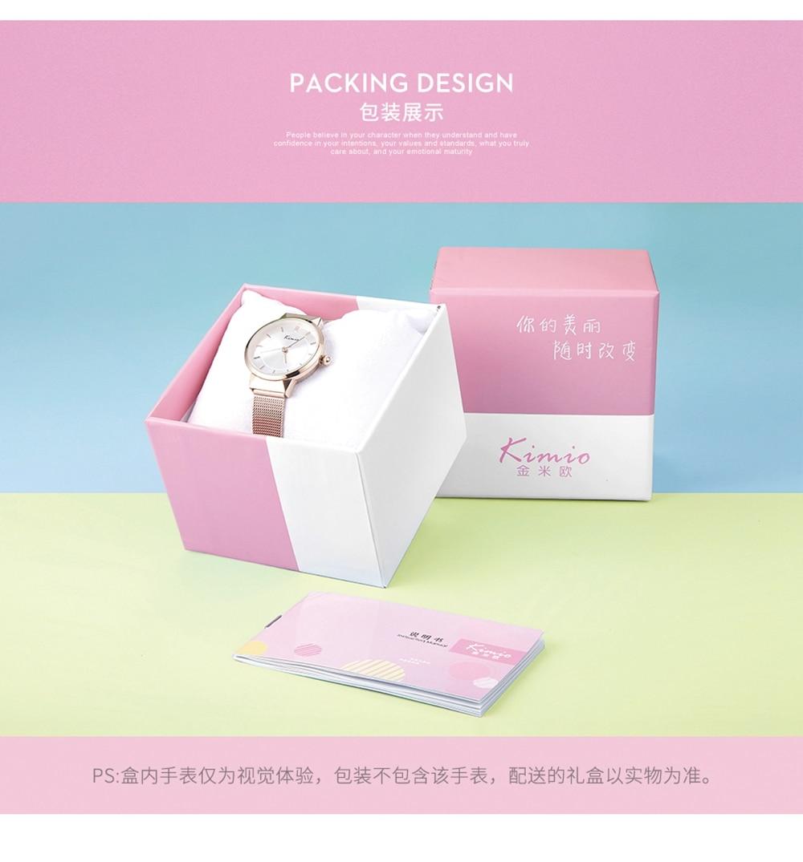 luxo 2020 rosa ouro feminino pulseira relógio