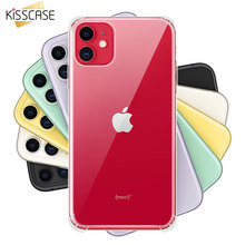 KISSCASE Clear Shockproof Case For iPhone 11 Pro Max Soft Silicone Back 6/6S7/8 Plus XR XS X Bag
