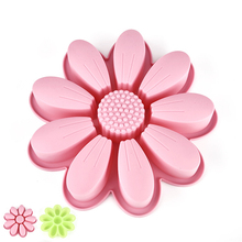 3D Flower Shape Silicone Mold Cake Decorating Tools Cupcake Silicone Mold Chocolate Soap DIY Decor Wedding Decoration Mould ttlife 3d daisy flower shape silicone mold pastry cupcake chocolate soap bakeware mould fondant cake sugarcraft decoration tools