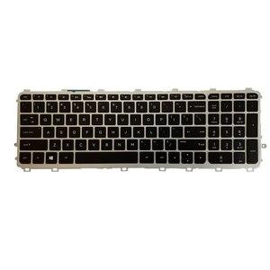 Image 2 - 米国のノートパソコンのhp羨望 15 J 15T J 15Z J 15 J000 15t j000 15z j000 15 j151sr英語シルバーフレームのキーボード