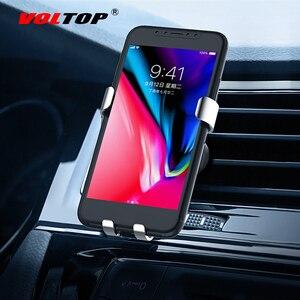 Image 2 - VOLTOP aleación gravedad teléfono soporte accesorios de coche salida de aire Universal teléfono móvil navegación soporte Auto suministros