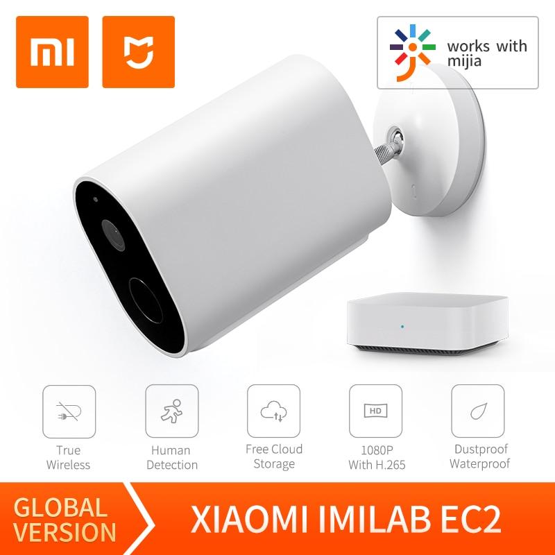 Imilab EC2 Ai Ip Camera Wifi Outdoor Batterij 1080P Hd Mijia Draadloze Beveiliging Infrarood Gateway Nachtzicht IP66 【Global version】