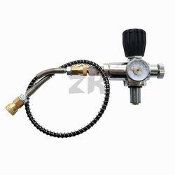 Юбилейный PCP клапан для подзарядки акваланга заправка воздуха Заправка Адаптер с 400bar 6000psi Калибр 50 см шланг высокого давления M18x1.5