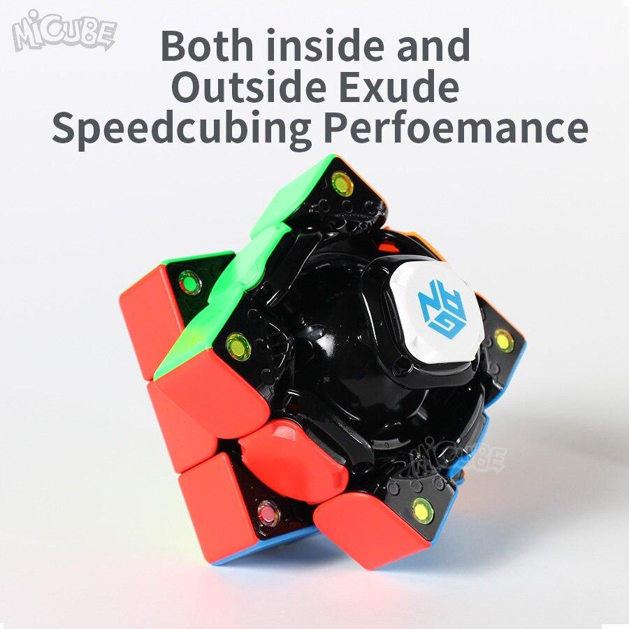 GAN356 i Cube de vitesse magique magnétique 3x3x3 GAN356i Station de Cube App GAN 356i aimants Cubes de compétition en ligne GAN 356 - 6