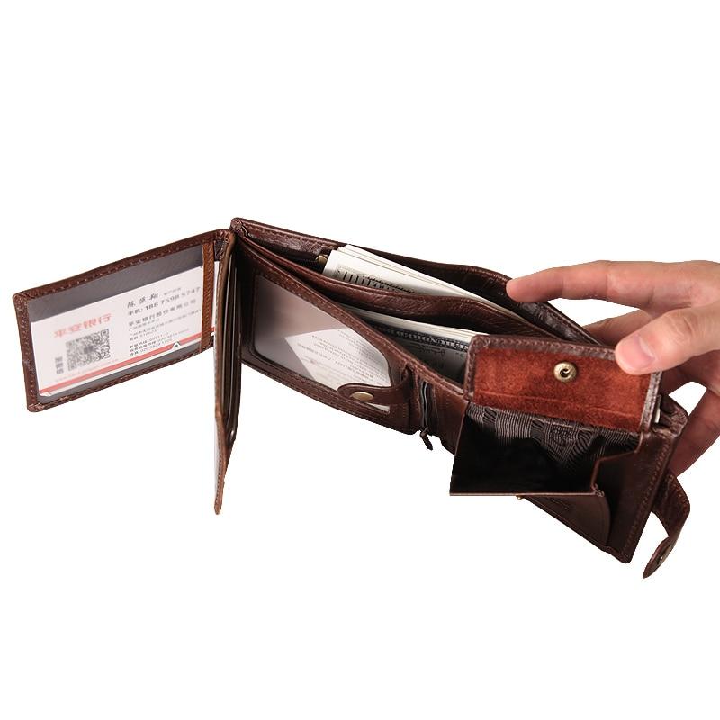Cobbler Legend Slim Genuine Leather Men Wallet Men's Wallets