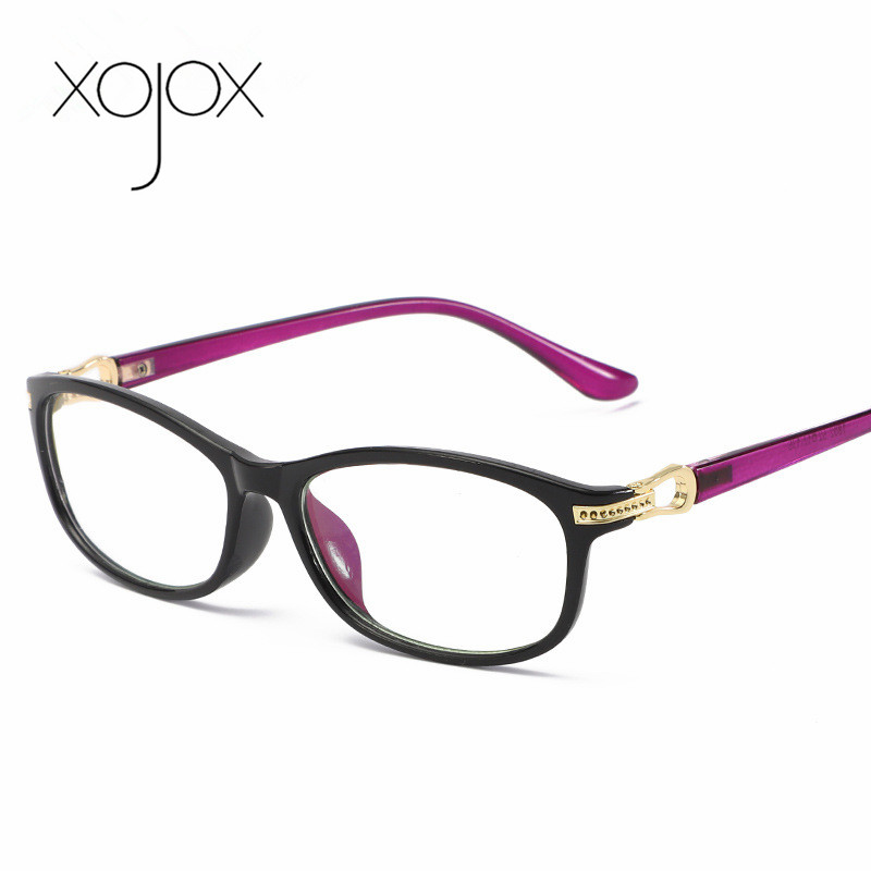 XojoX Women Reading Glasses Anti-Blue Light  Computer Eyeglasses Metal Temple +1.0 +1.5 +2.0 +2.5 +3.0 +3.5 +4.0
