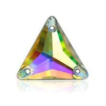 12mm,16mm,22mm AAAAA quality Crystal Clear / Crystal AB Rhinestones Sew Crystals Glass Stones Sew on Rhinestone