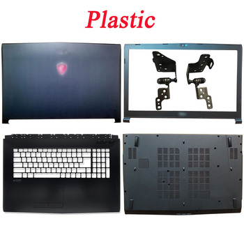 New Black For MSI GP72 GL72 GL72M MS-1795 MS-1799 Series Laptop LCD Back Cover/Front Beze/Hinges/Palmrest/Bottom Case Top Cover new original for msi gp75 ms 17e1 ms 17e2 ms 17e3 laptop lcd back cover front bezel hinges palmrest bottom case
