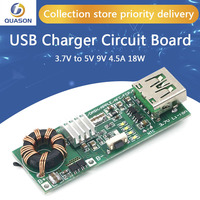 QC4.0 QC3.0 Double Way PD Mobile Phone Power Bank Quick Charge 3.7V to 5V 9V 4.5A 18W Type-C USB Boost Charger Circuit Board