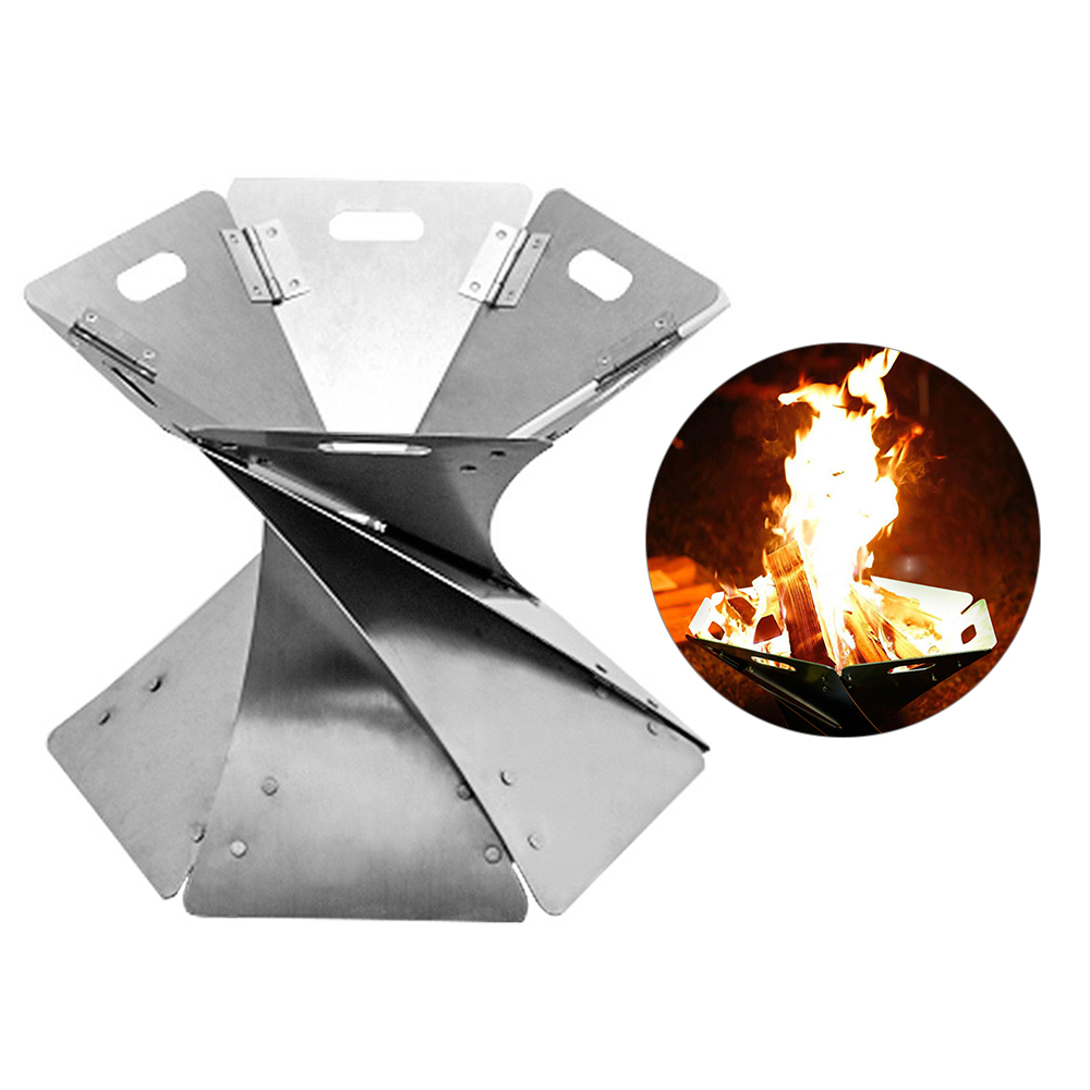 Outdoor Campfire Foldable Fire Pit